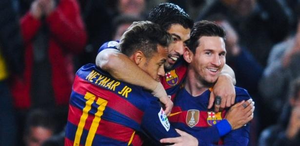 Neymar, Suárez e Messi: sintonia perfeita no Barcelona