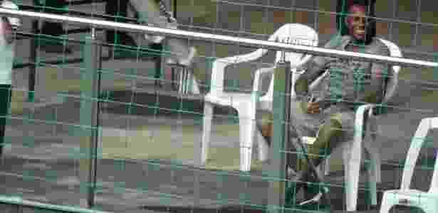 Robinho esteve no Estádio Independência para acompanhar Atlético-MG x Boa Esporte - Victor Martins/UOL Esporte