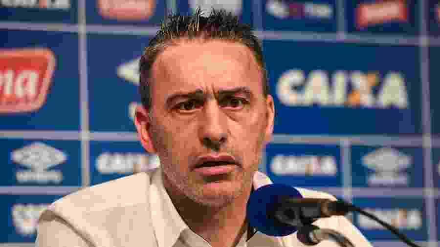 O português Paulo Bento foi treinador do Cruzeiro em 2016 - Pedro Vilela/Light Press/Cruzeiro