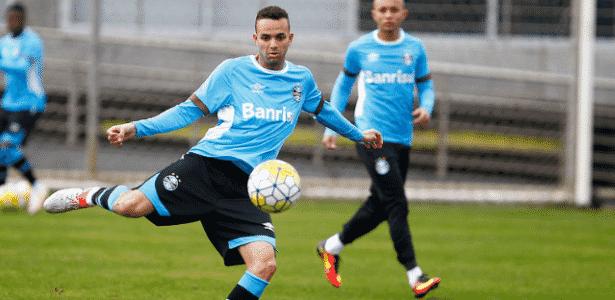 Jogador preenche perfil desejado pelo Barça - Lucas Uebel/Grêmio