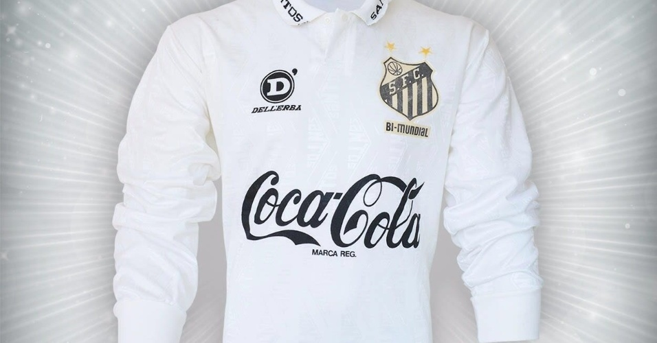 Camisa do Santos do Brasileiro de 1993