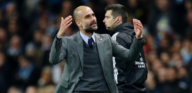 """Guardiola se disse """"muito feliz"""" pela vitória sobre o Barça"""