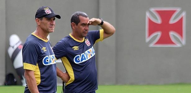 Jorginho e Zinho comandarão o treino desta quarta sem a presença da imprensa