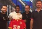 Empresário confirma venda de Marinho para time chinês:
