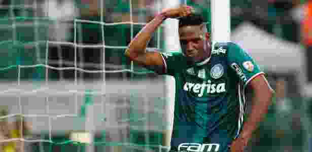 Palmeiras quer voltar a comemorar jogando no Allianz - MARCOS BEZERRA/FUTURA PRESS/FUTURA PRESS/ESTADÃO CONTEÚDO