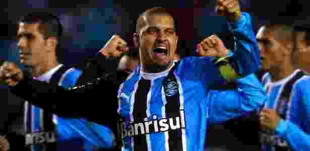 Sandro Goiano, ex-volante do Grêmio - AFP/Getty Images/JEFFERSON BERNARDES/ - AFP/Getty Images/JEFFERSON BERNARDES/