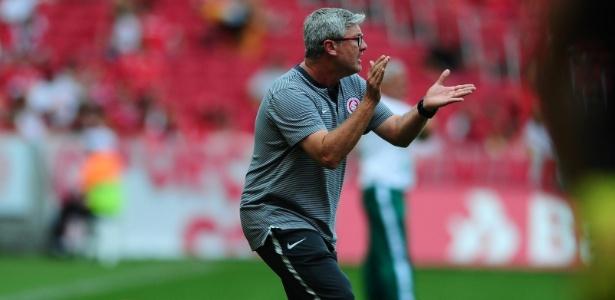 Odair Hellmann, técnico do Inter, acredita em partida ofensiva contra o Boavista