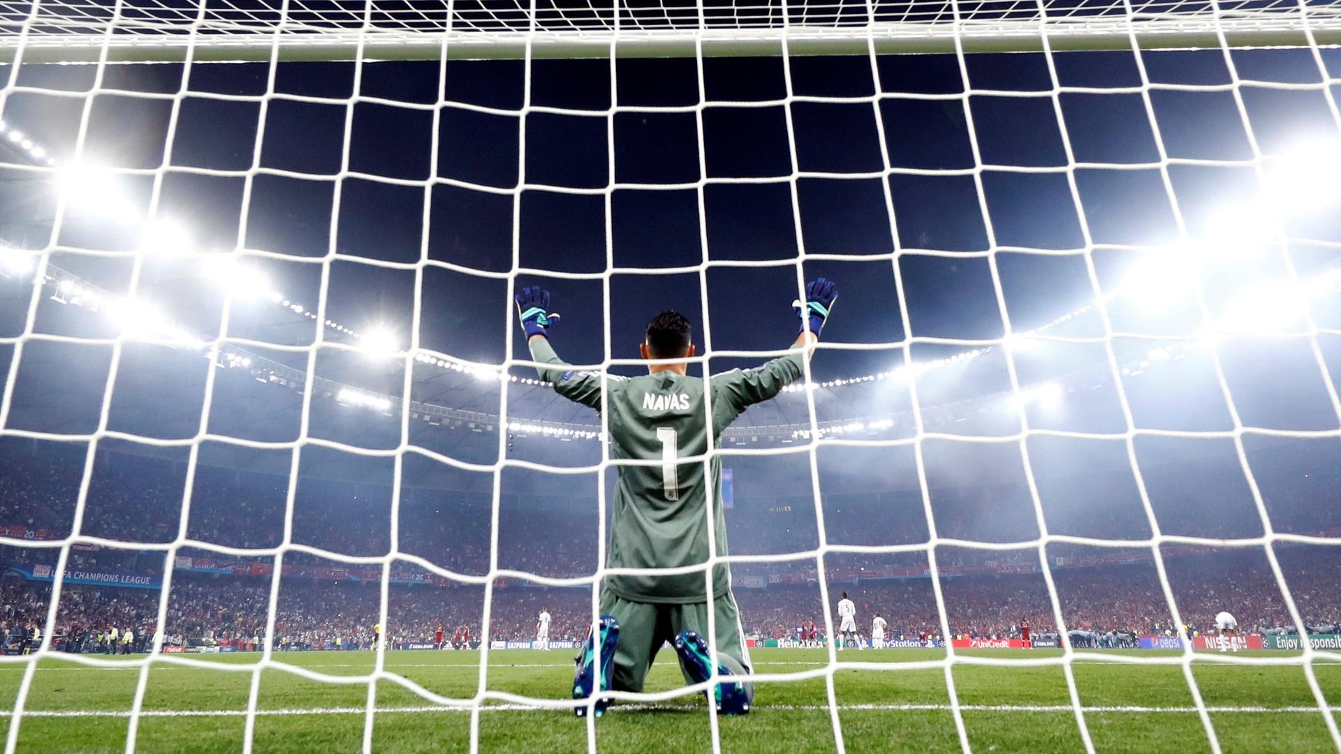 Keylor Navas Real Madrid Liverpool