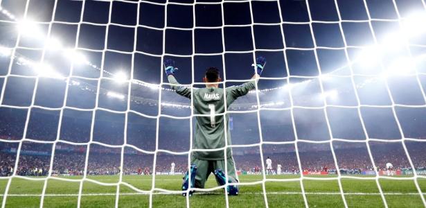 Keylor Navas saiu em defesa do goleiro do Liverpool