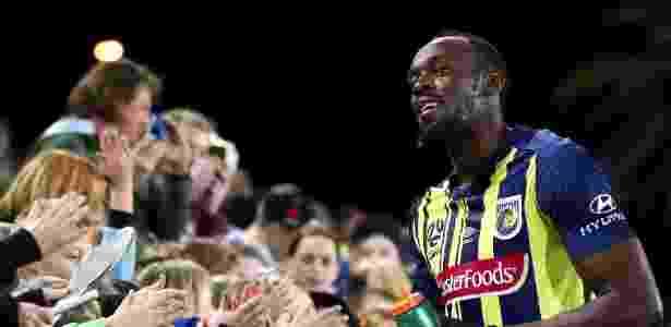 Usain Bolt jogou pelo Central Coast Mariners, da Austrália, em 2018 - Cameron Spencer/Getty Images