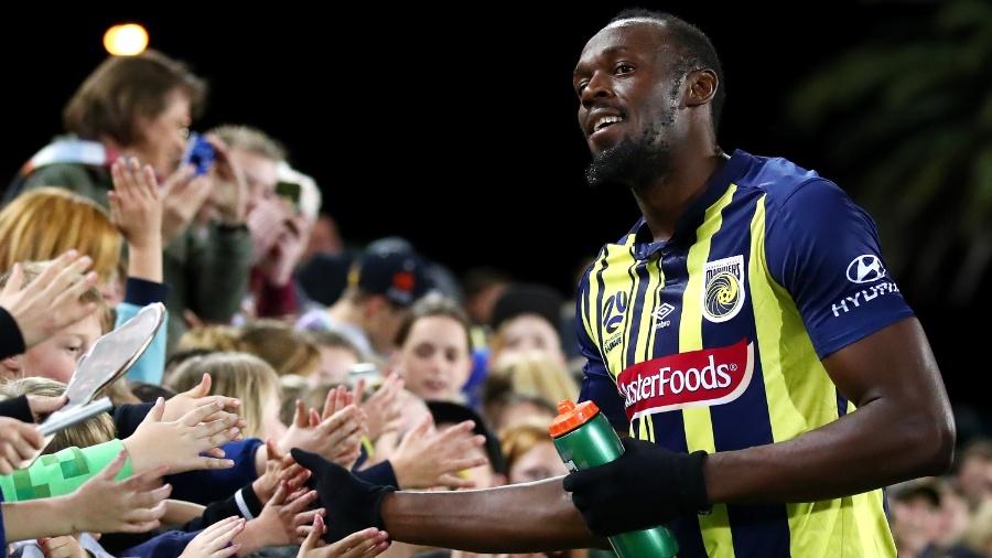 Usain Bolt tentou emplacar como jogador de futebol na Austrália - Cameron Spencer/Getty Images