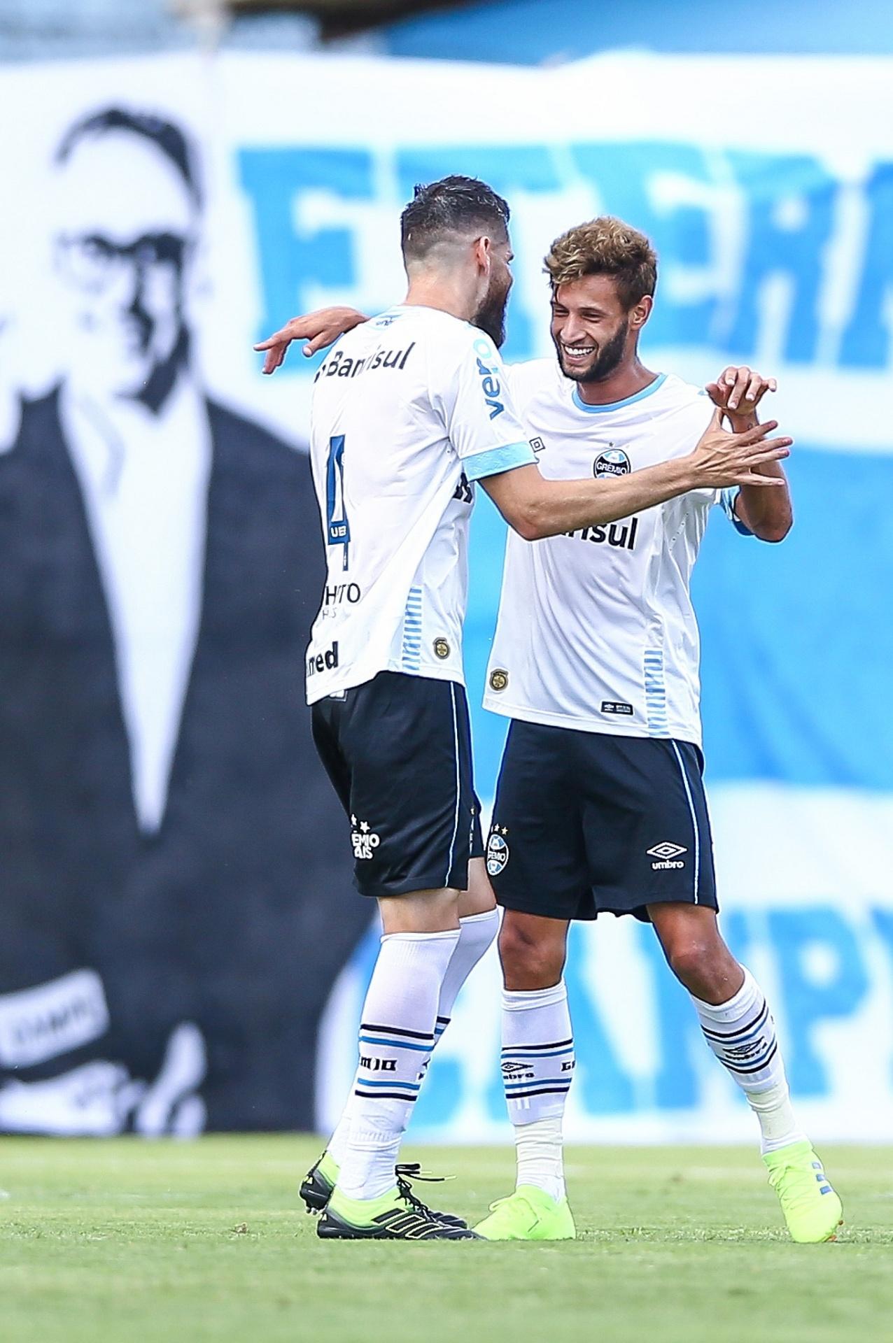 Juninho convence com  veia goleadora  e Grêmio tenta renovação - 22 01 2019  - UOL Esporte 82be791356709