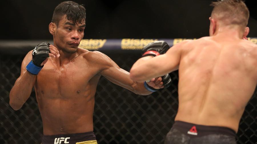 Raulian Paiva estreia com derrota no UFC - Jon Roberts/ Ag Fight