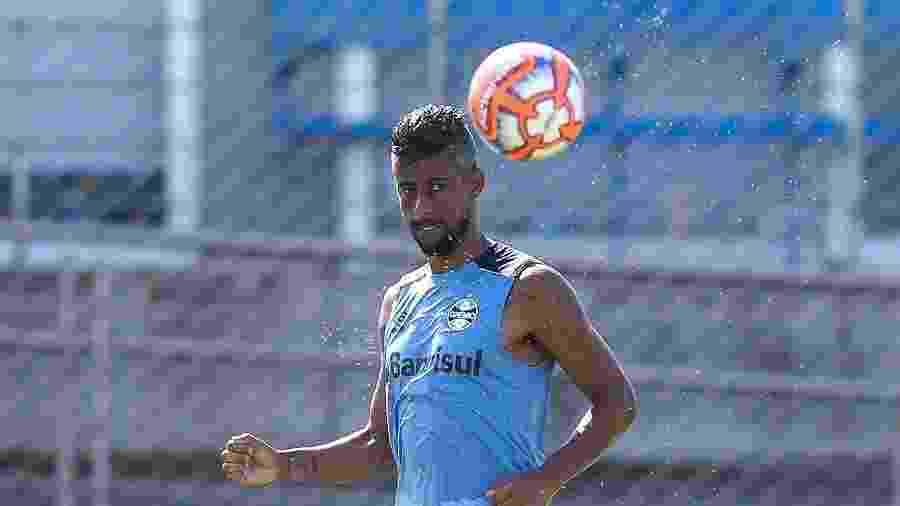 Léo Moura atuou em apenas uma das sete partidas do Grêmio em 2019 - Lucas Uebel/Grêmio