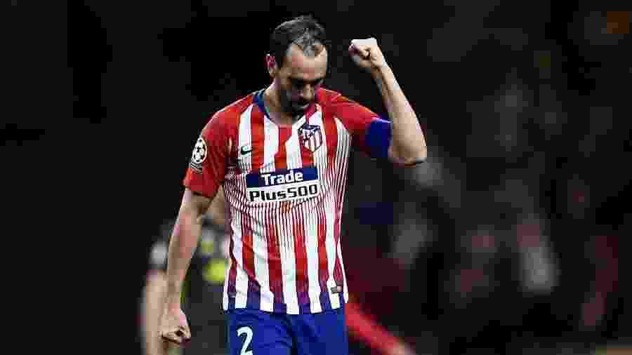 Godín está no Atlético de Madrid desde 2010 - Oscar del Pozo/AFP