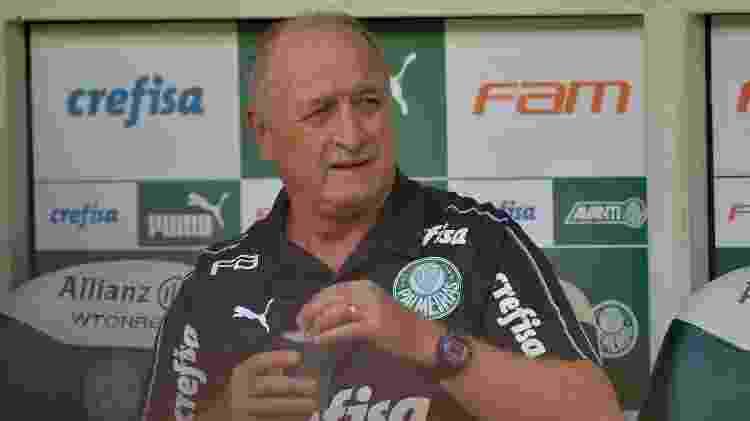 Luiz Felipe Scolari - Duda Bairros/AGIF - Duda Bairros/AGIF