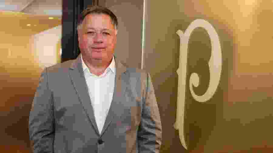 Anderson Barros é o novo diretor de futebol do Palmeiras - Fabio Menotti/Ag. Palmeiras/Divulgação