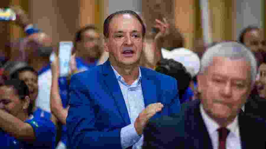 Saulo Froés, presidente do Núcleo Dirigente Transitório do Cruzeiro - Bruno Haddad/Cruzeiro