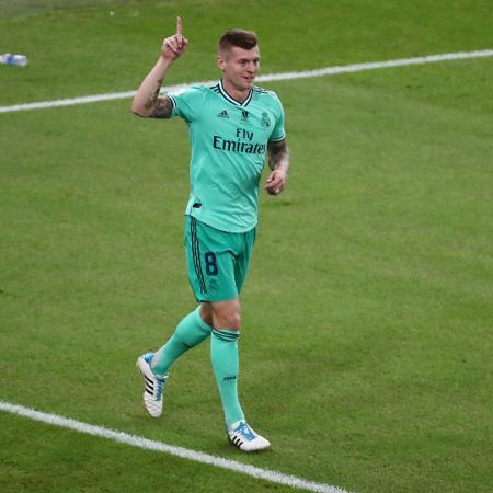 Kroos rebate provocação de meia do Chelsea após eliminação do Real Madrid - REUTERS/Sergio Perez