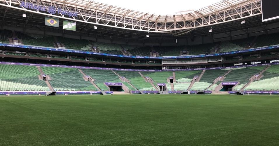 Gramado Allianz Parque Palmeiras