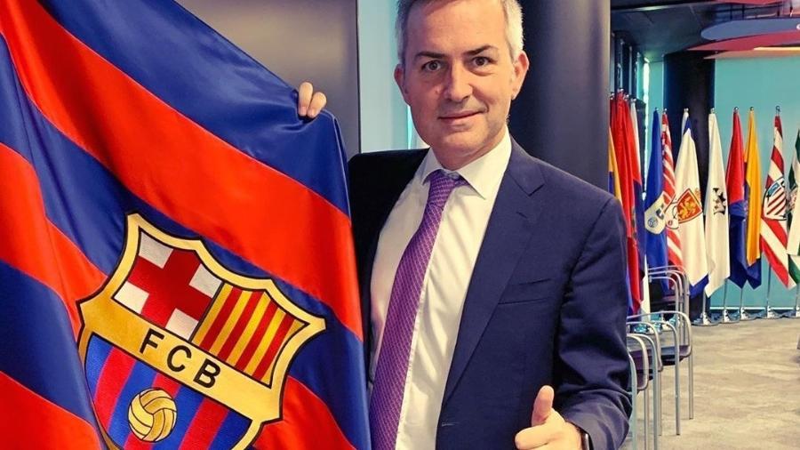 Victor Font mostrou interesse em Guardiola, mas não detalhou para qual cargo quer contratar o treinador - Reprodução/Instagram