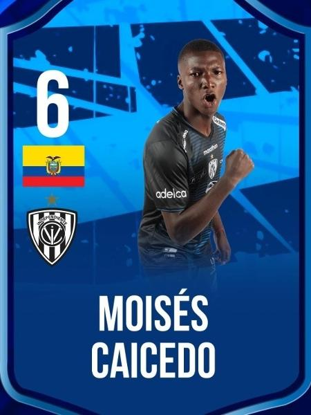 Moisés Caicedo, 18 anos, é um dos destaques do time  - Divulgação/Site oficial do Independiente del Valle