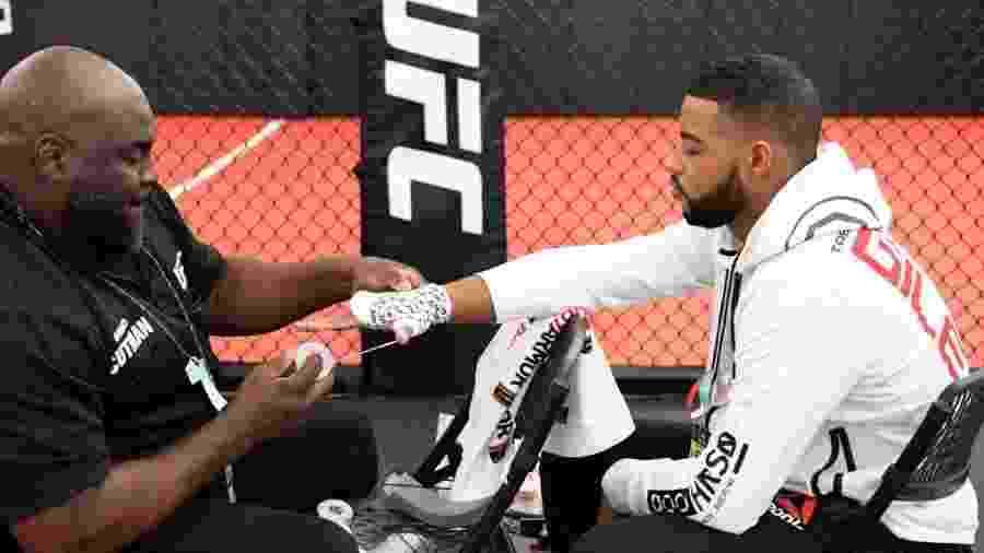 Trevin Giles desmaiou antes de luta contra Kevin Holland - Mike Roach/Zuffa LLC via Getty Images