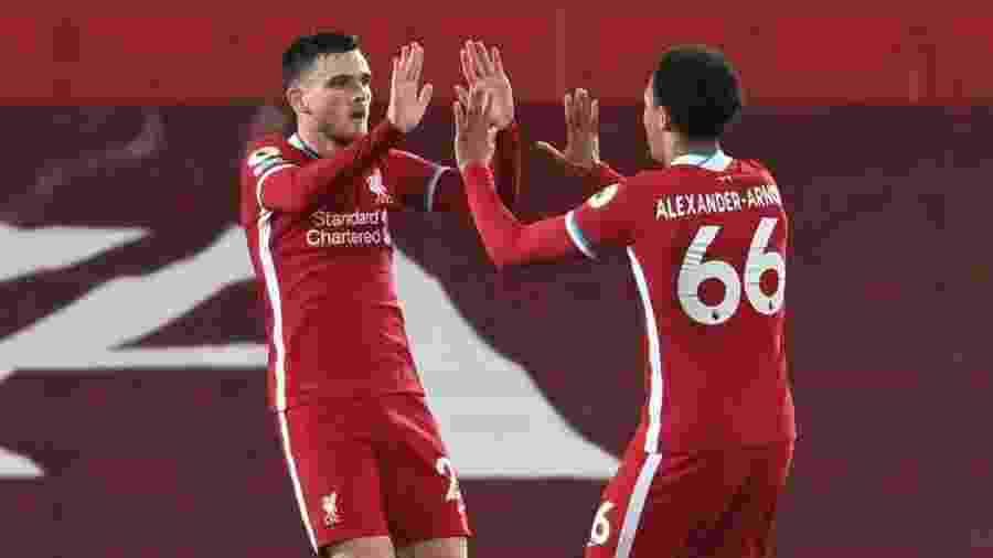 O Liverpool vai jogar em casa contra o Sheffield pelo Campeonato Inglês; veja como assistir - REUTERS/Laurence Griffiths