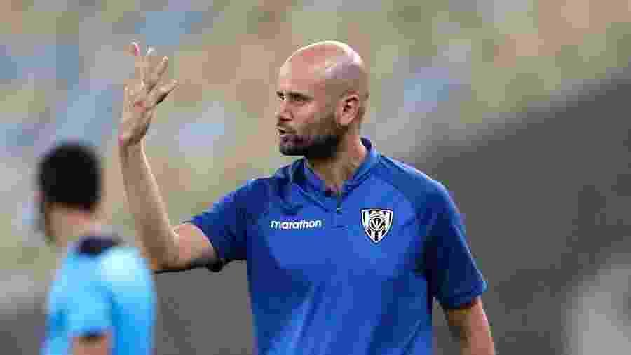 Miguel Angel Ramirez, técnico do Independiente del Valle, é o alvo do Palmeiras - Silvia Izquierdo-Pool/Getty Images