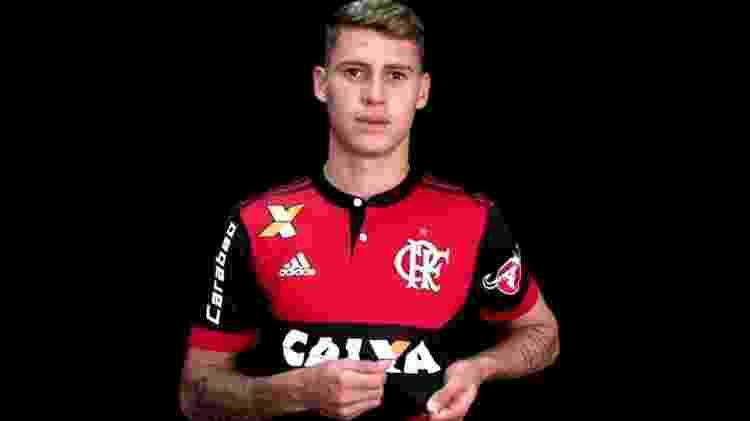 Matheus Sávio (Flamengo) - Divulgação - Divulgação