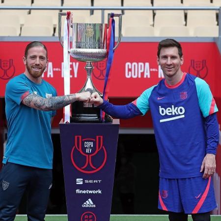 Messi renova o visual para final da Copa do Rei; confira - Instagram