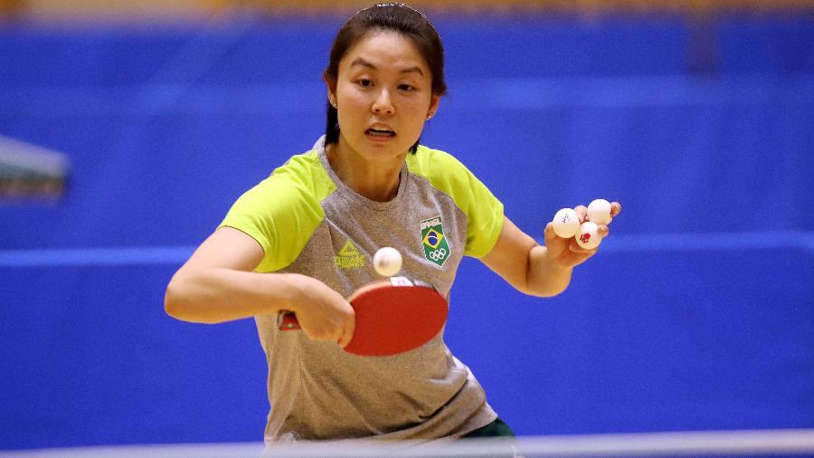 Jessica Yamada perde no tênis de mesa em partida eletrizante da primeira rodada e está eliminada das Olimpíadas de Tóquio-2020 - Gaspar Nóbrega/COB