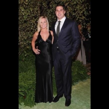 Katie DeOssie, mulher de Zak DeOssie, do New York Giants