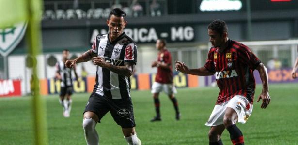 Giovanni Augusto defendeu o Atlético-MG na última temporada