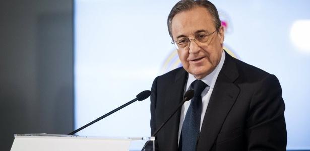 Florentino Pérez levou o Real Madrid à era das super contratações neste século