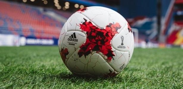 Krasava, a bola da Copa das Confederações na Rússia