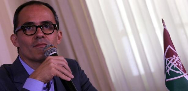 Pedro Abad, presidente do Flu, falou sobre a situação do clube nesta quinta-feira