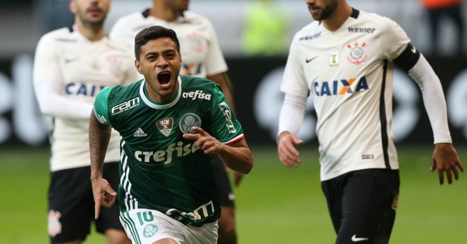 Cleiton Xavier Corinthians gol Palmeiras
