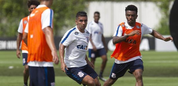 Guilherme marcou o único gol do jogo-treino contra o Atibaia
