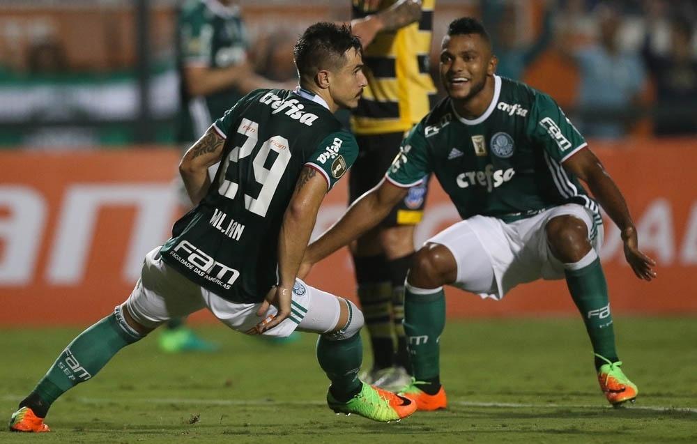Willian Borja Palmeiras Novorizontino Campeonato Paulista