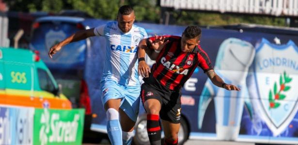 Atlético-PR e Londrina se enfrentaram em semi final do Campeonato Paranaense neste domingo (23)