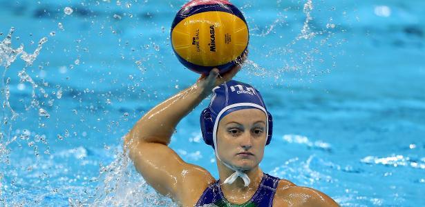 Elisa Queirolo durante a Olimpíada Rio-2016