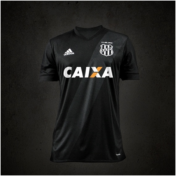 Ponte Preta lança segundo uniforme com faixa cinza  estreia será domingo be243a254123a
