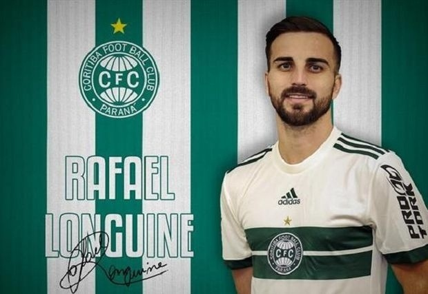 Rafael Longuine, meia do Coritiba