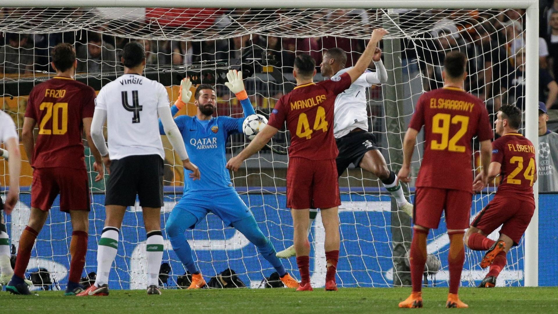 Wijnaldum marca o segundo do Liverpool diante da Roma
