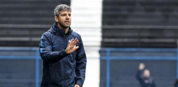 Técnico Marcos Soares comando o Corinthians no duelo contra o Fluminense - Rodrigo Gazzanel/Ag. Corinthians