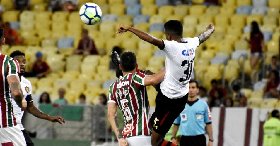 Fluminense e Sport se enfrentam no estádio do Maracanã pelo Campeonato Brasileiro 2018