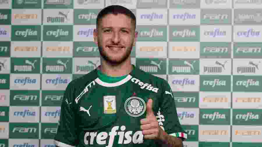Zé Rafael foi uma das seis contratações do Palmeiras para 2019 -