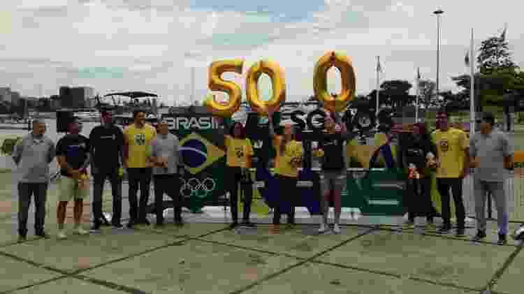 Escultura COB - Leo Burlá/ UOL Esporte - Leo Burlá/ UOL Esporte