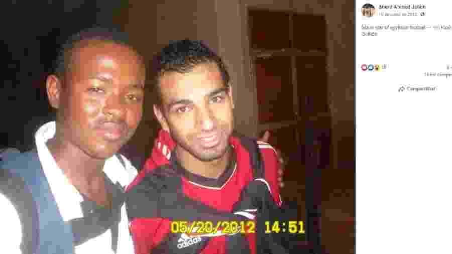 Olheiro afirmou em 2012 que Salah seria estrela e viralizou este ano - Reprodução/Facebook